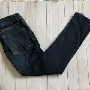 Free People Skinny Dark Wash Jeans 24